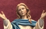 Mary Statue SJB Trimmed