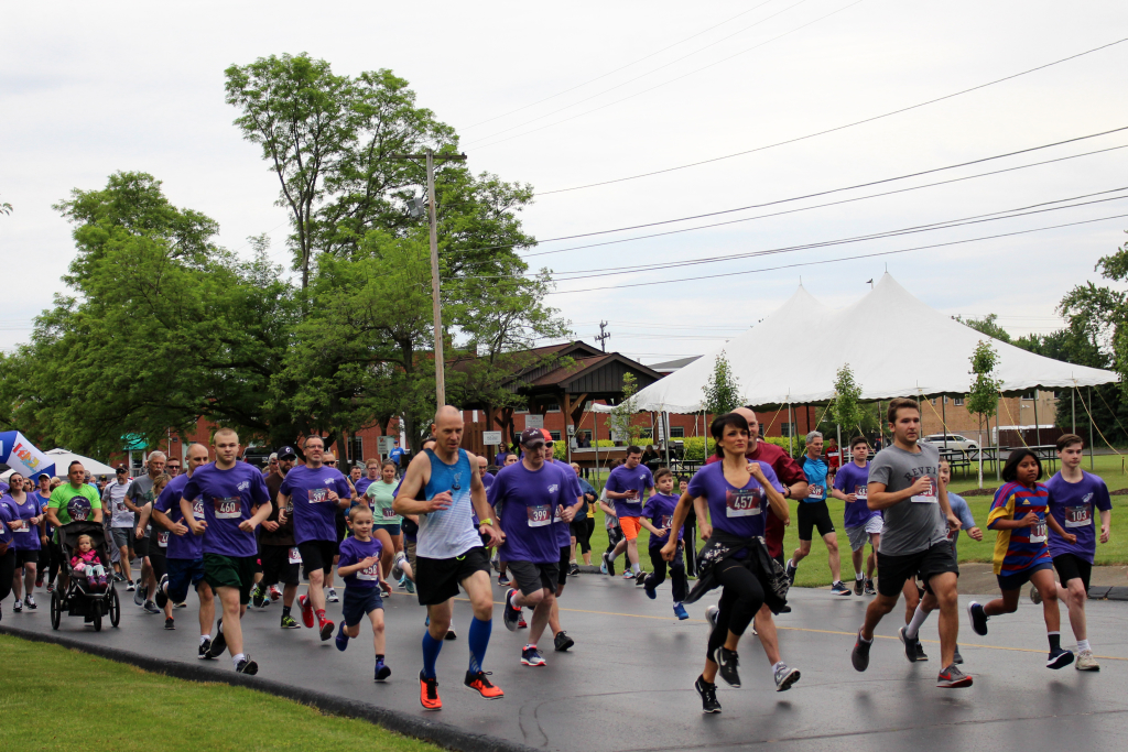2019 5K Race off to a great start! Thank you to all who helped and participated!