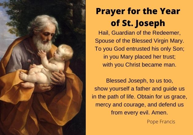 Prayer for the Year of St. Joseph